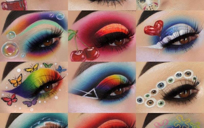 trendy makeup art by Maggie Jones