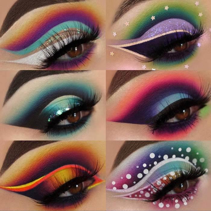 creative eye makeup looks by the Maggie Jones