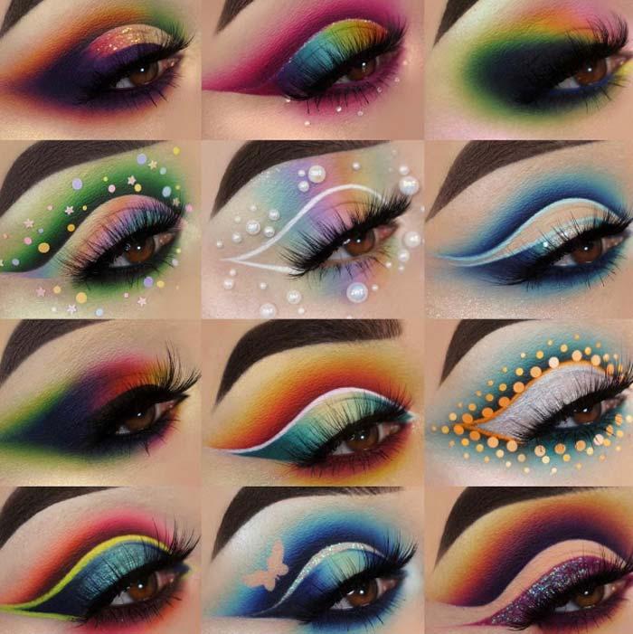 Amazing eye makeup looks by the Maggie Jones