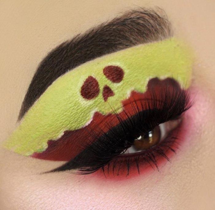 cool makeup art ideas by the Maggie Jones