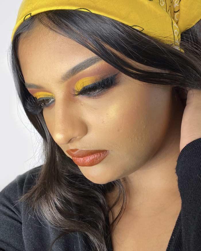 stunning Eye makeup look by Annie sachdevaa