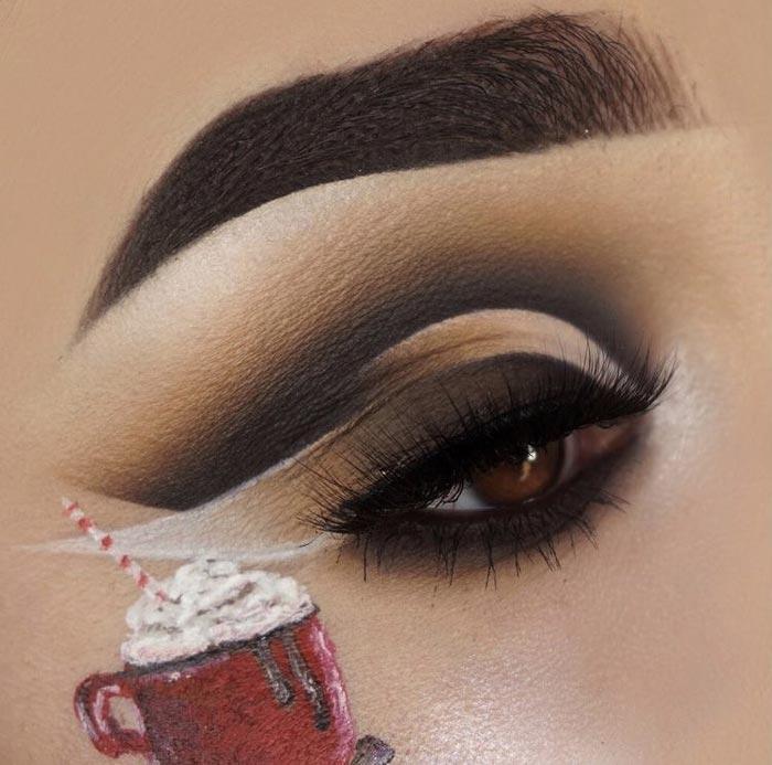 trendy makeup looks by the Maggie Jones