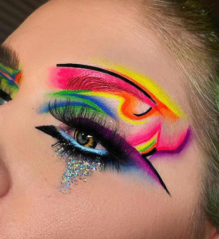 Creative Makeup Art ideas by The Bria Beauty
