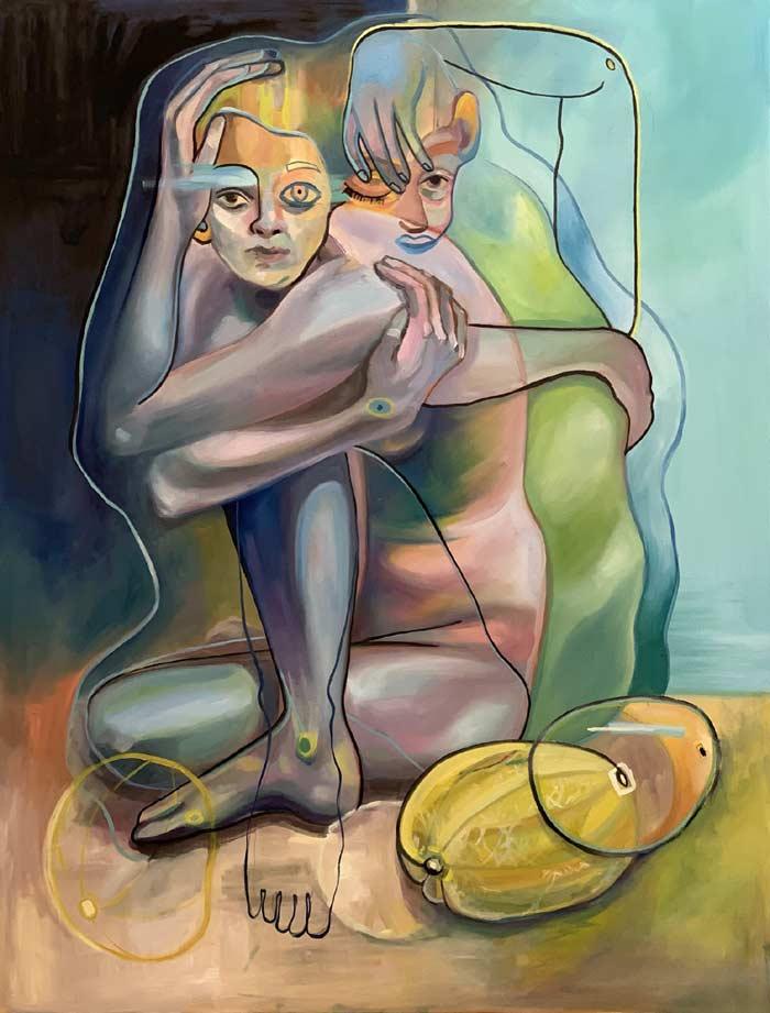 Alessandra B-B Melon transformation art