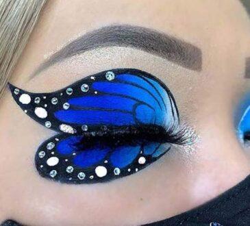 Creative eye makeup looks by J'Lee