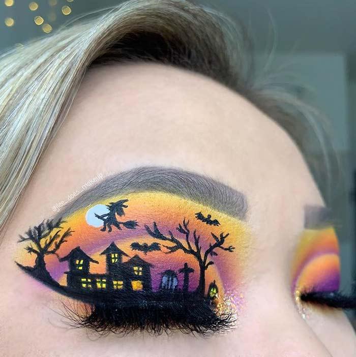 Creative eye makeup looks by J'Lee Christy