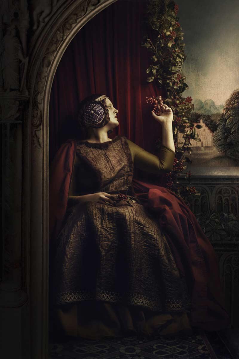 artistic portrait photography by Derville Emilie