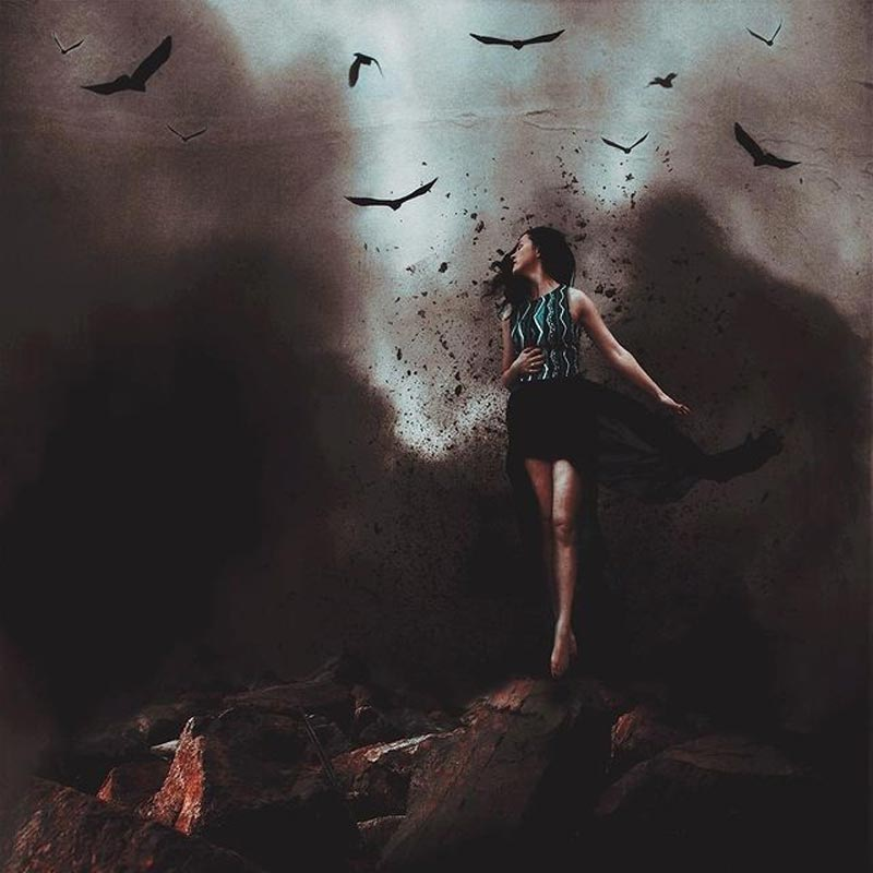 Darkness photography by Erin Graboski