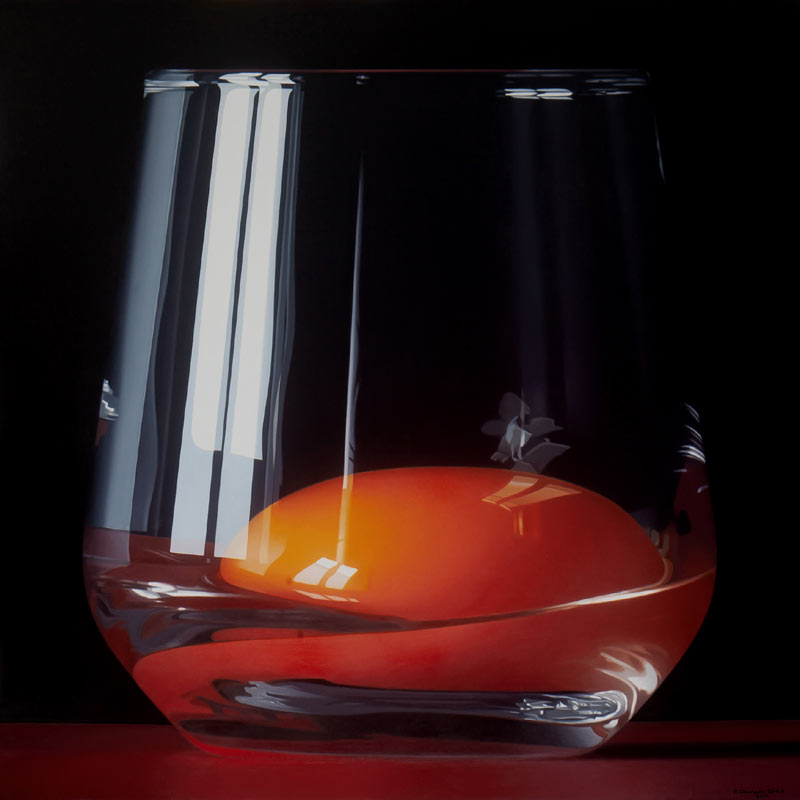 Egg still life painting by Pedro Campos