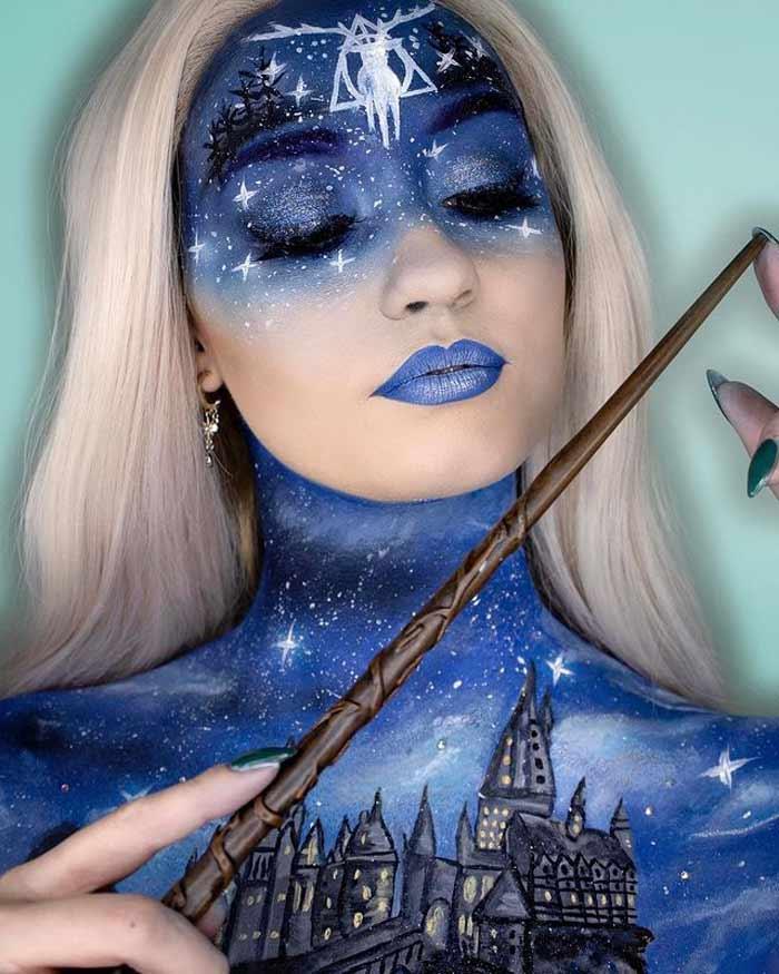 Harry potter makeup art by Paige Marie
