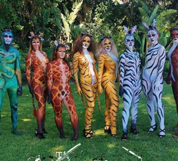 Specialist body painting Lucia Chamorro