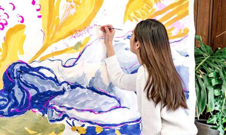 Expressionism Artist Nichapha Trongsiri