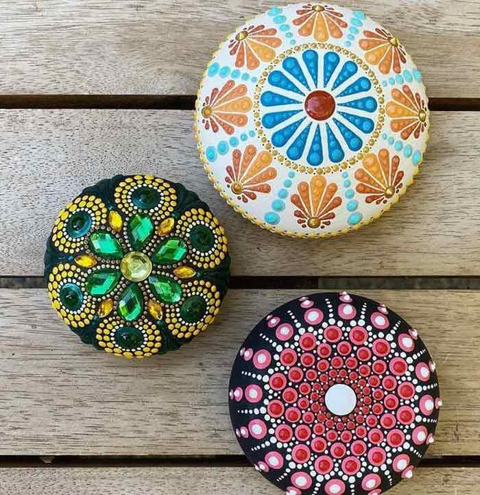 Lovely Dot Mandala Designs