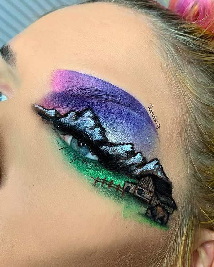 Creative Eye Makeup Art Ideas