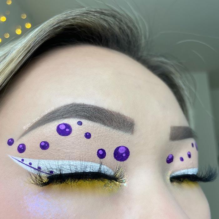 Trendy eye makeup art looks by J'Lee Christy