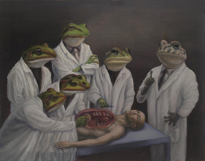 Yagi Anatomy Lesson surrealism art