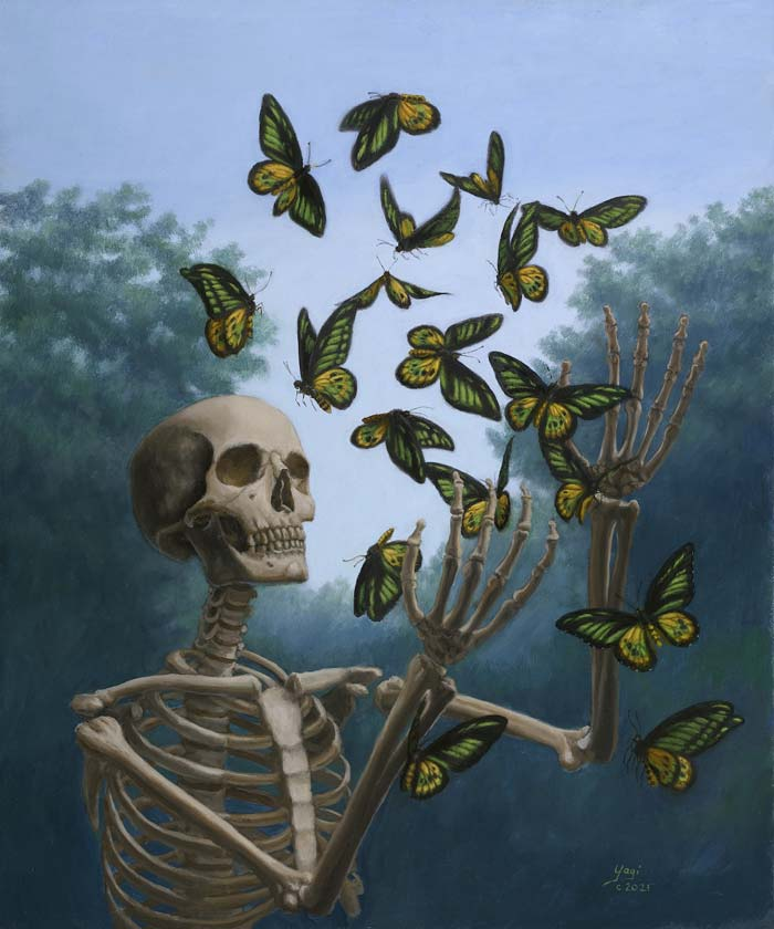 Yagi Longing for ephemeral surrealism oil painting