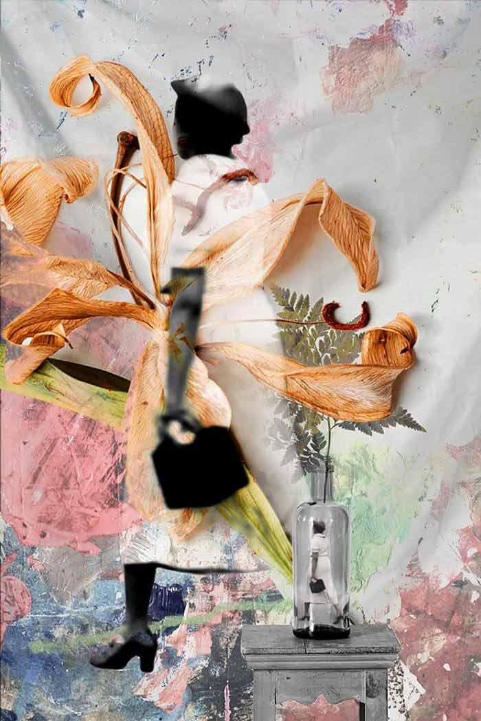 Collage art ideas by Luise Eru