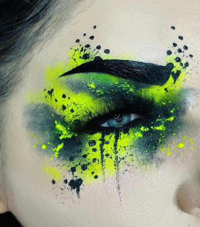 Creative makeup art by The Bria Beauty