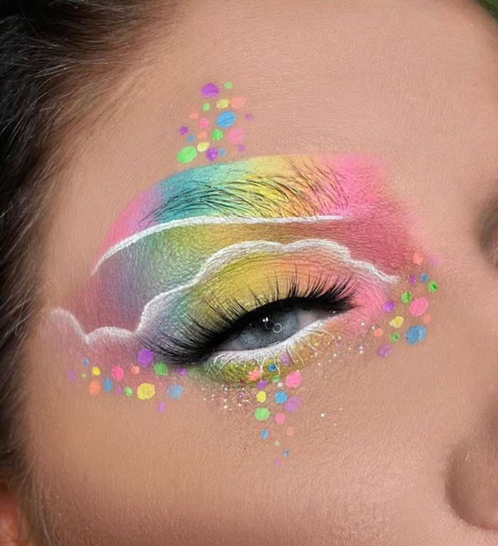 Creative makeup ideas by The Bria Beauty