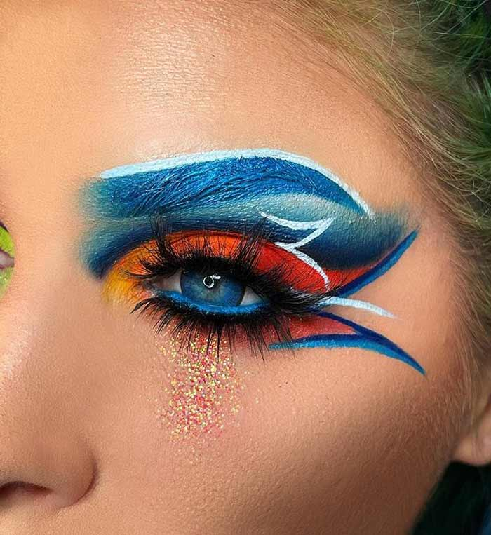 Creative Makeup Looks by The Bria Beauty