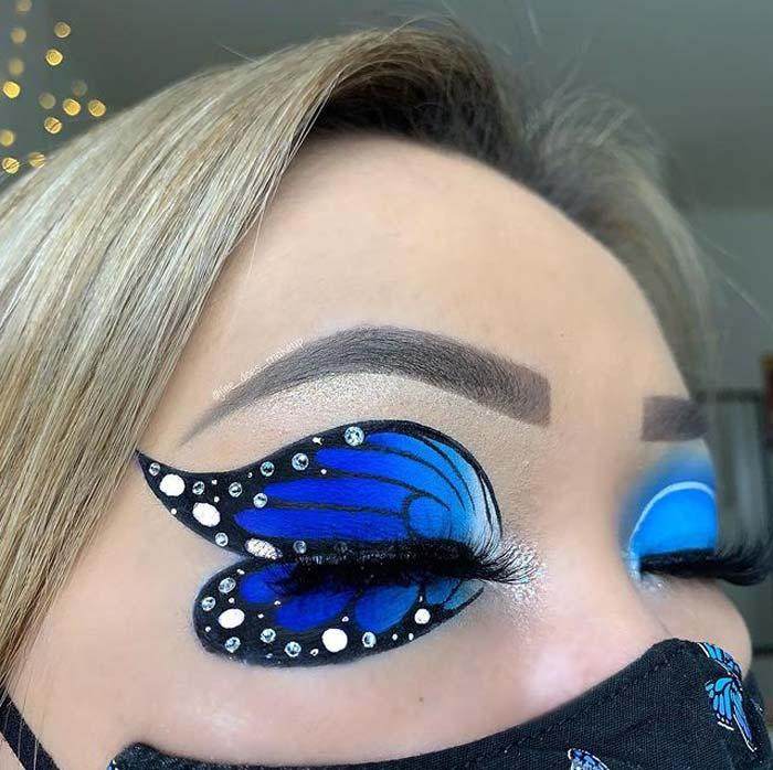 Creative eye makeup look by J'Lee Christy